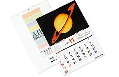 壁掛けカレンダー写真