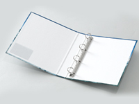 表紙貼製バインダーUP表面