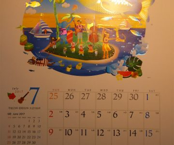 7月のスタートはやっぱりスーパークリスタルカレンダーから