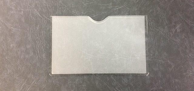 契約書ファイルやビニール製バインダーの名刺ポケットです!