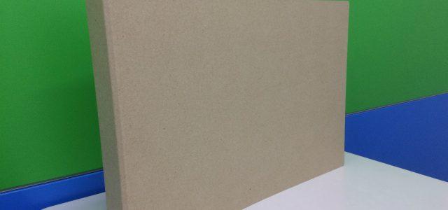 クラフト調のA3ヨコ型バインダー製作します。