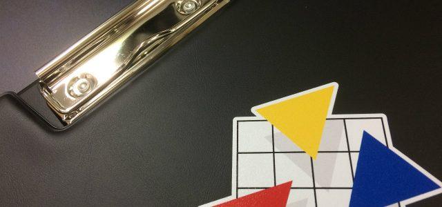 ビニール製クリップボードでカラー印刷承ります!