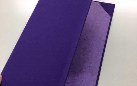 布以外でも卒業証書ホルダーは作れます!