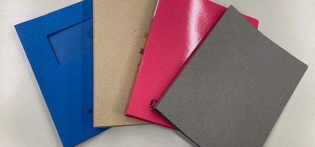 紙製バインダーの種類はこんなにあるんです!