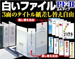 ピットインフリーファイル(3面タイプ)